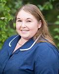 Nicola Chadfield, small animal nurse at Oaklands Veterinary Centre