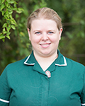 Sophie Hodder, small animal nurse at Oaklands Veterinary Centre