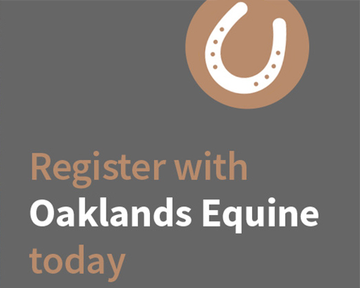 Register With Oaklands Equine Today